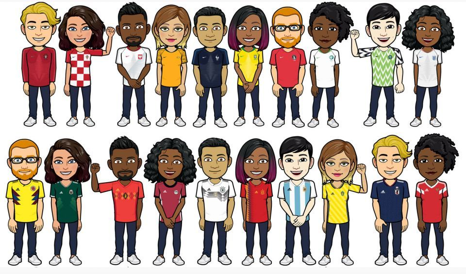 بيتموجي يحول هاتفك وحساباتك لارتداء قميص فريقك المفضل بكأس العالم
