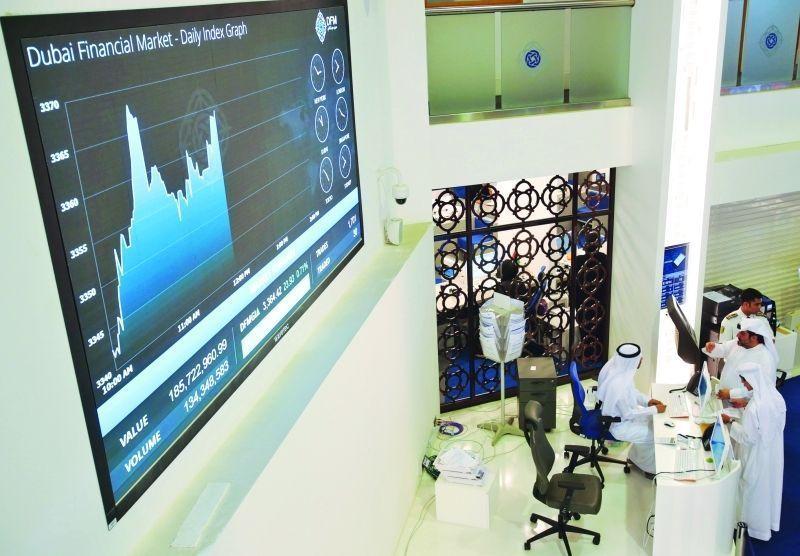 المستثمرون يجنون الأرباح في أسواق الأسهم  الإماراتية قبل عطلة العيد