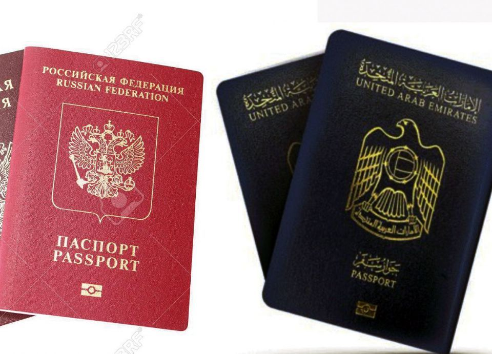 إعفاء متبادل لمتطلبات التأشيرة لمواطني الإمارات ومواطني روسيا الاتحادية