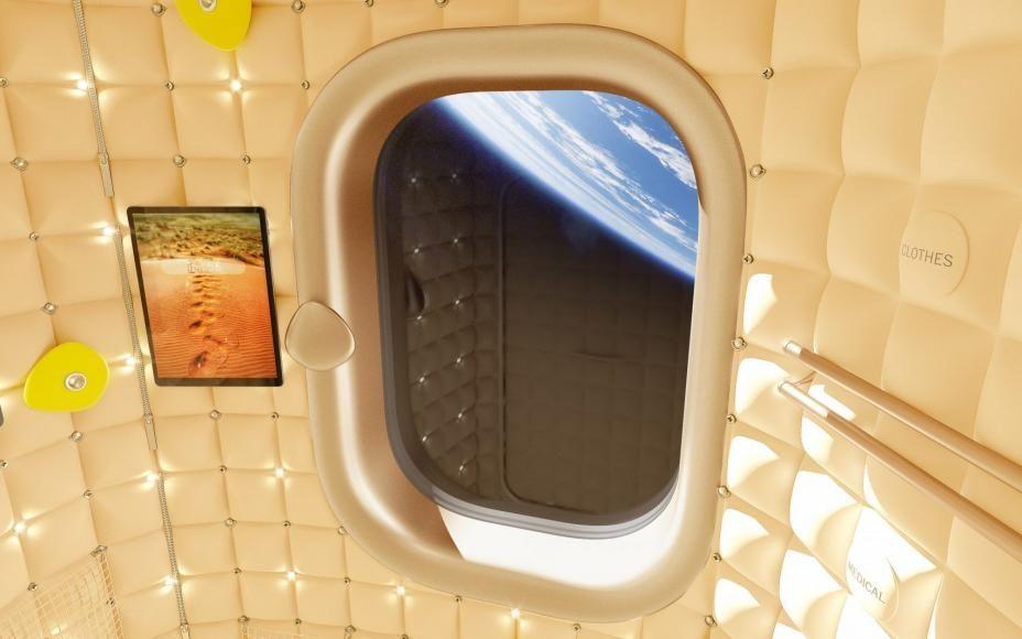 بالصور قريبا يمكنك قضاء عطلة في محطة الفضاء التي صممها فيليب ستارك