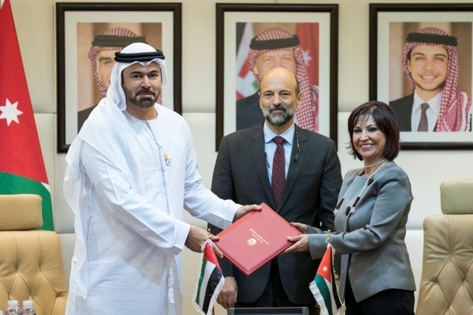 الإمارات تدعم تحديث الأداء الحكومي في الأردن