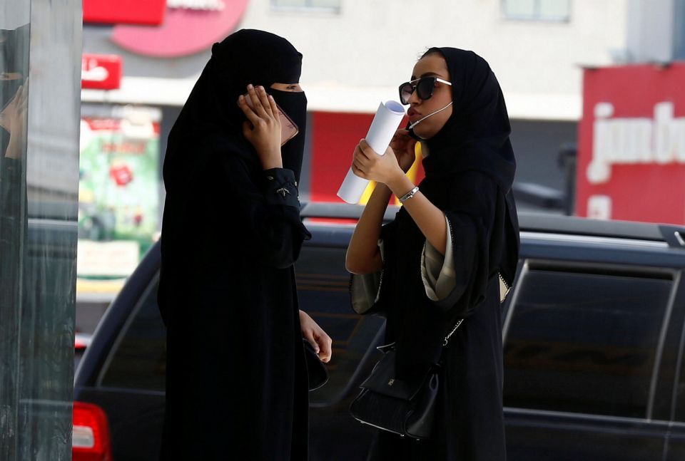 ساعات تفصل عن أكبر حدث في تاريخ المرأة السعودية