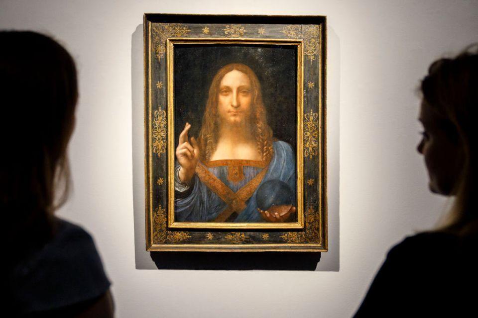 متحف اللوفر أبوظبي يكشف موعد عرض لوحة «سلفاتور مندي» منقذ العالم