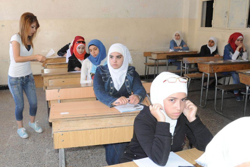 وزارة التربية السورية تعلن موعد نتائج امتحانات الشهادة الثانوية 2018