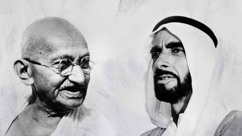 الإمارات والهند تعلنان إطلاق متحف «زايد -غاندي» الرقمي