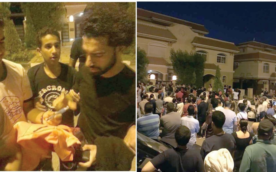 محمد صلاح يخرج لجمهوره بعد تسريب عنوان بيته على فيسبوك