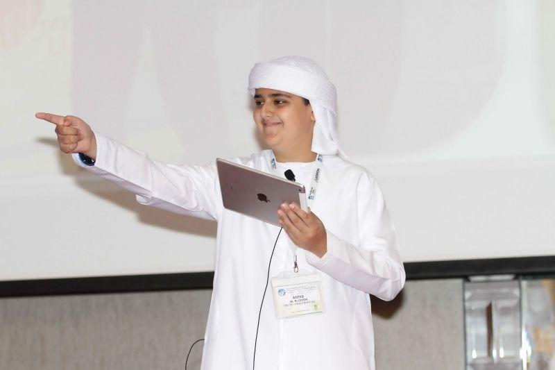 الإماراتي أديب البلوشي يتوج على رأس قائمة عالمية لأذكى 50 شاباً