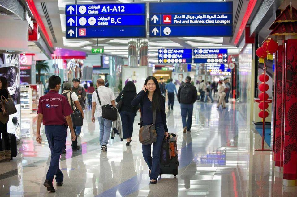 37 مليون مسافر عبر مطار دبي الدولي في خمسة أشهر