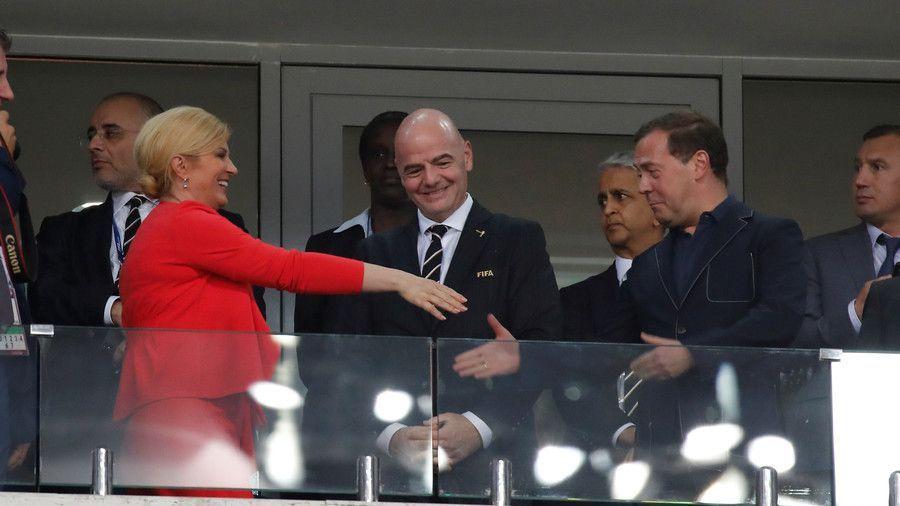 كرواتيا تقصي روسيا من كأس العالم