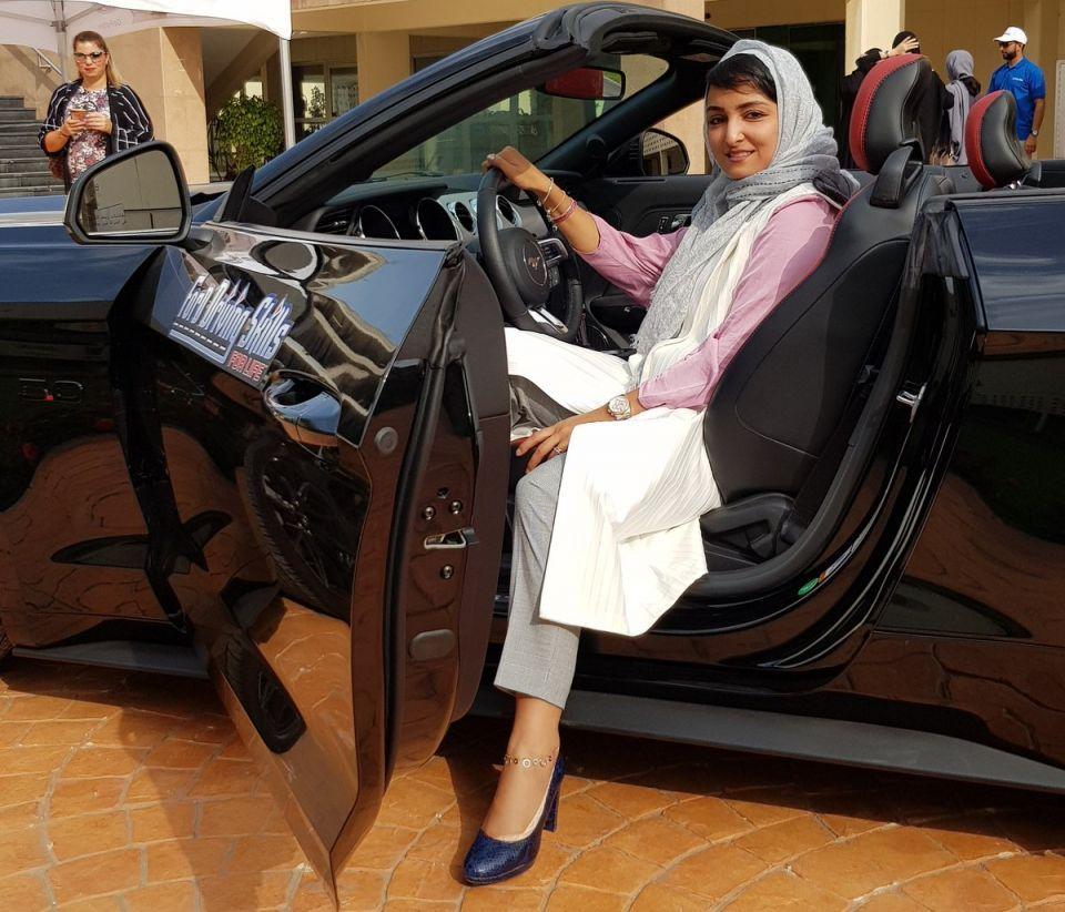 توقيف أول متحرش بسائقة سعودية