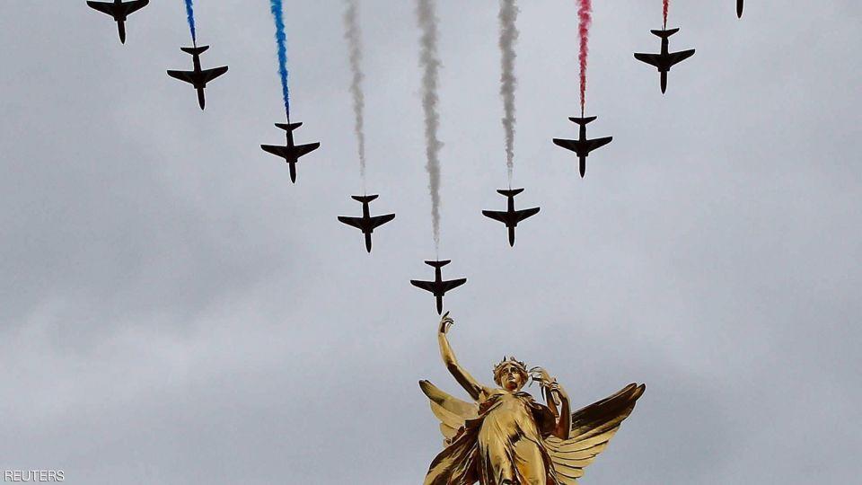 بالصور: بريطانيا تحيي ذكرى القرن
