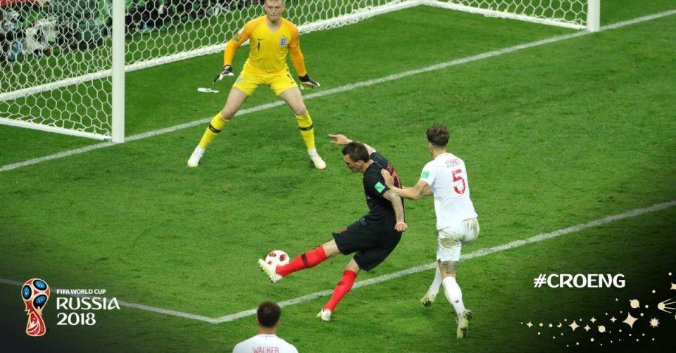 كرواتيا تخطف الفوز من انكلترا لتلاقي فرنسا على نهائي كأس العالم