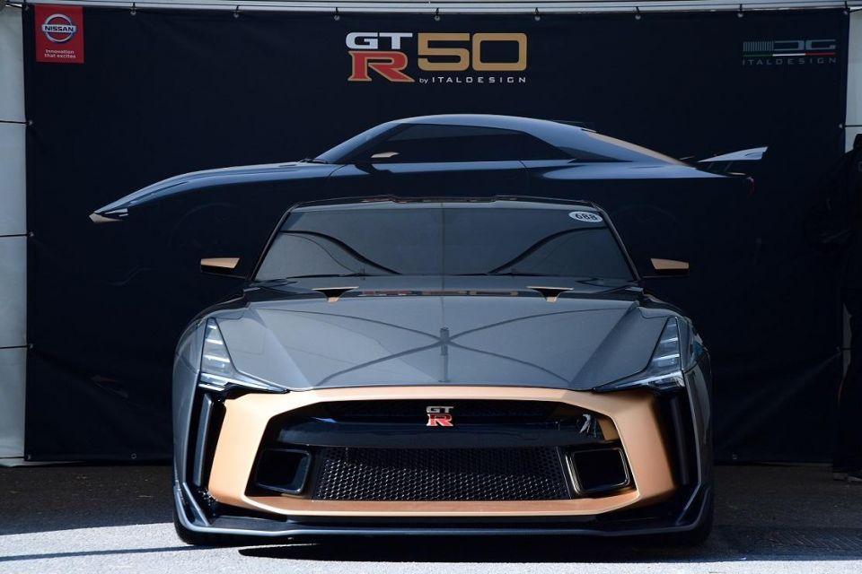 بالصور: نيسان تحتفل بالذكرى الخمسين لسيارة GT-R50 بنسخة خاصة