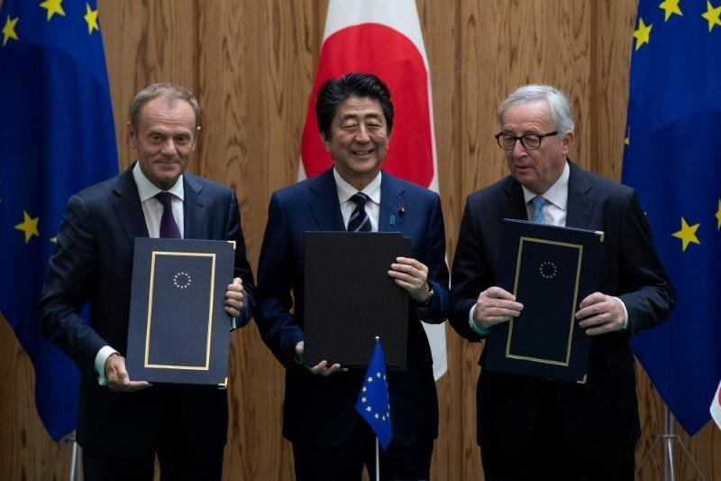 الاتحاد الأوروبي واليابان يدشنان أكبر منطقة اقتصادية مفتوحة في العالم