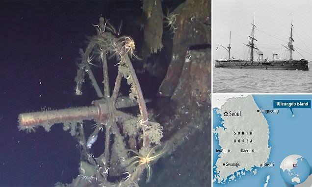 شاهد لحظات العثور على سفينة محملة بـ 200 طن من الذهب غرقت سنة 1905