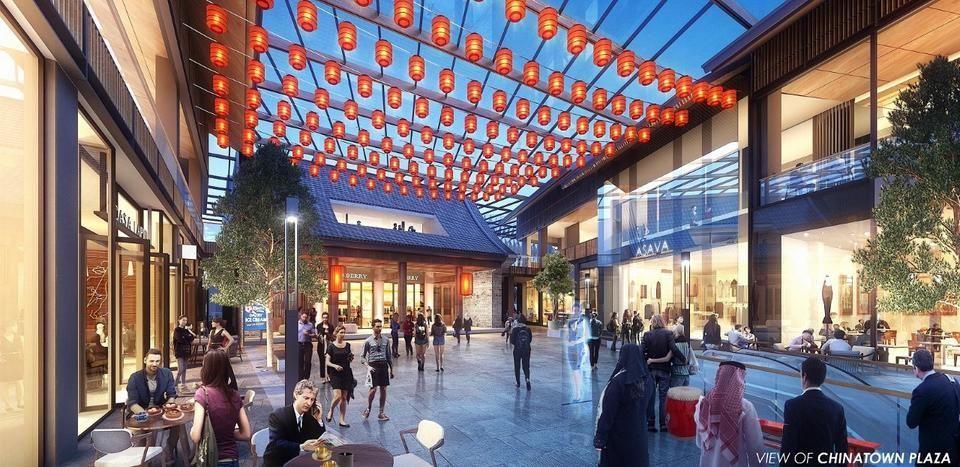إعمار تطور أكبر حي صيني في الشرق الأوسط ضمن خور دبي