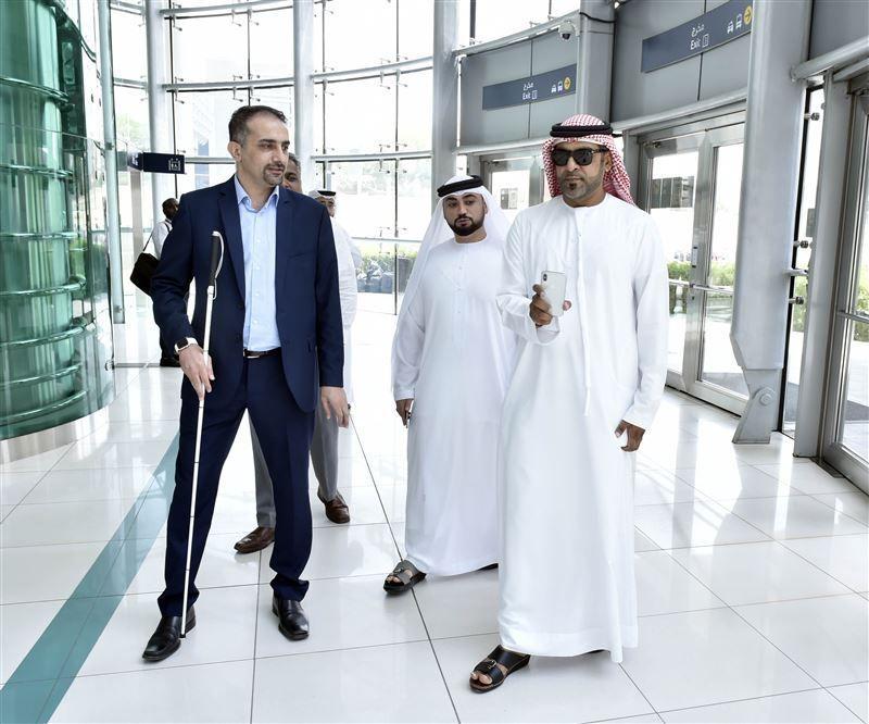 فيديو: دبي تطلق تقنية ذكية لإرشاد أصحاب الهمم في محطات المترو