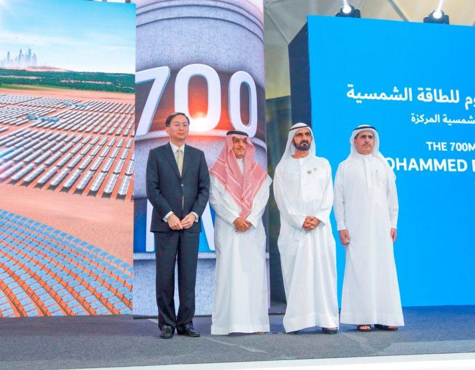 صندوق طريق الحرير الصيني يستحوذ على 24% من مشروع للطاقة الشمسية بدبي