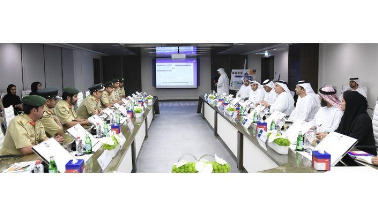 التشغيل التجريبي لإدارة الحوادث المرورية في دبي 16 سبتمبر
