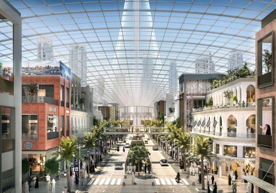 «دبي سكوير» وجهة تجارية تواكب أحدث التطورات التقنية في خور دبي.. صور