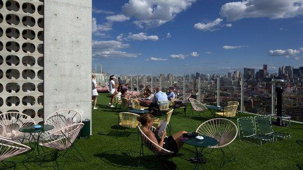 بالصور: أفضل 10 أسطح الفنادق في العالم