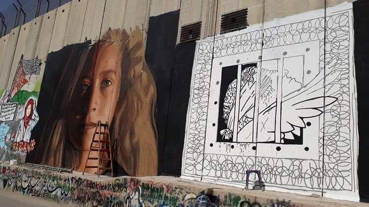 الناشطة الفلسطينية عهد التميمي رمز المقاومة تستعد للخروج من السجن