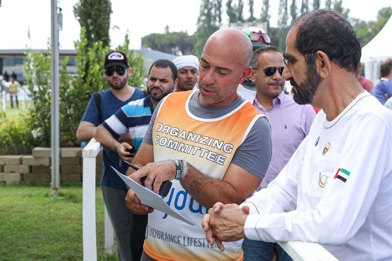 نائب رئيس الإمارات يشهد مهرجان محمد بن راشد للقدرة في إيطاليا...صور