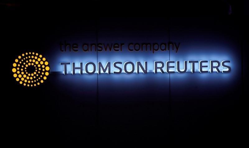 وحدة تومسون رويترز للمعلومات المالية تغير اسمها إلى ريفينيتيف