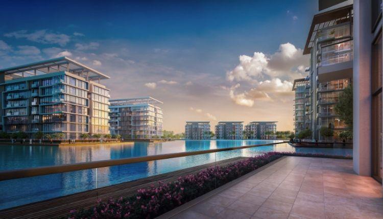 بدء تطوير منازل ذات واجهة مائية بمدينة محمد بن راشد آل مكتوم - دستركت ون
