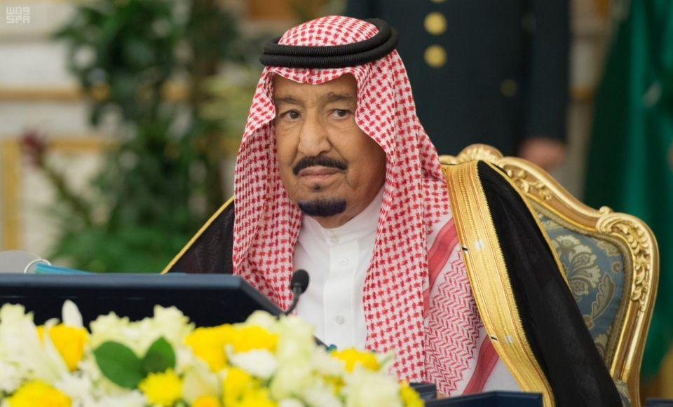 العاهل السعودي يقضي فترة استجمام بمدينة نيوم