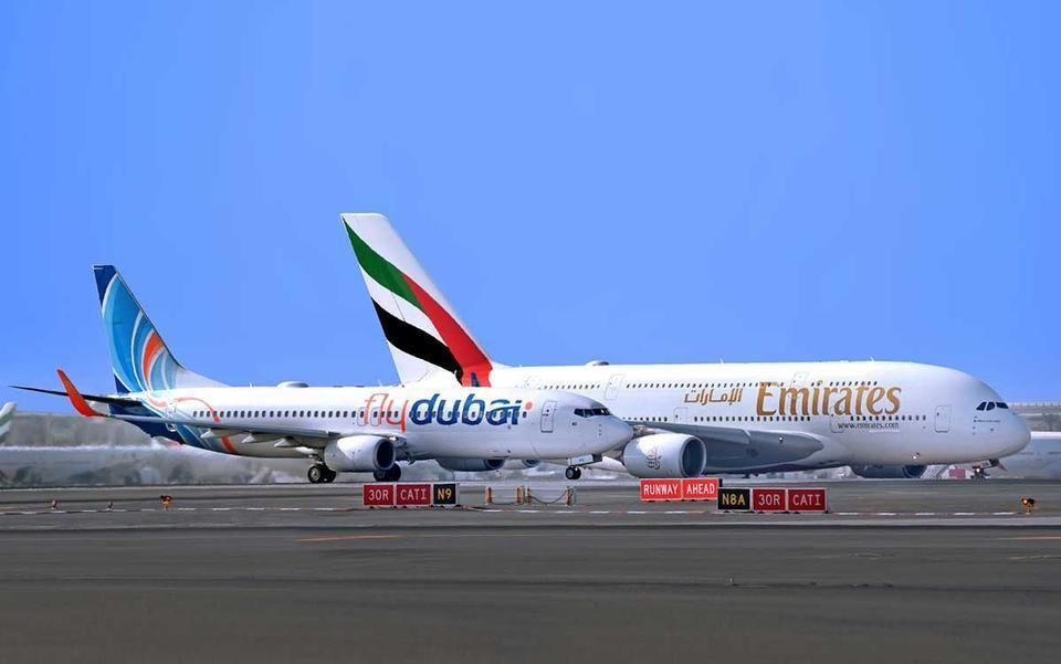 طيران الإمارات وفلاي دبي توحدان برنامجي مكافأة ولاء المسافرين الدائمين