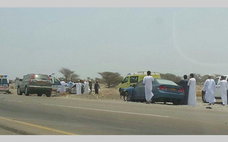 وفاة 4 إماراتيين في حادث مروع في سلطنة عُمان