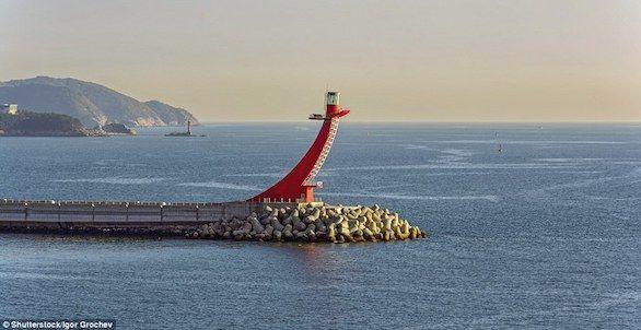 بالصور : أغرب المنارات البحرية في العالم