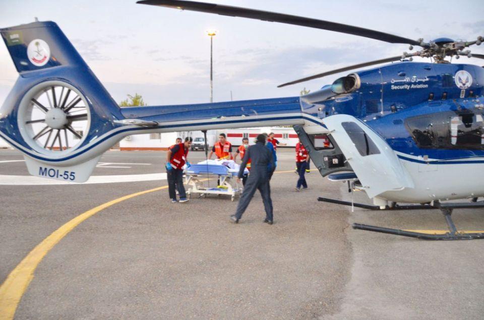 حاج هندي يرفض إسعافه بطائرة سعودية ويبكي بعد علمه بمجانية الخدمة