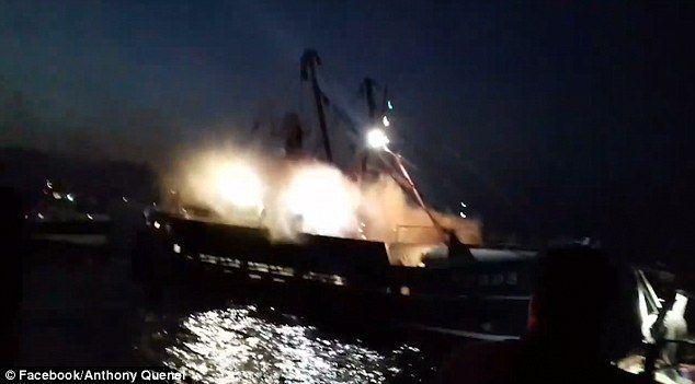 اندلاع حرب المحار مجددا بين فرنسيين وبريطانيين في خليج نورماندي
