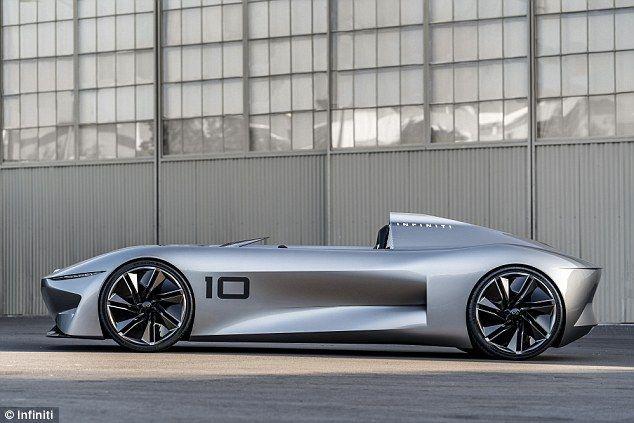 بالصور : إنفينيتي تكشف عن سيارة كهربائية أنيقة تمزج بين الماضي والمستقبل