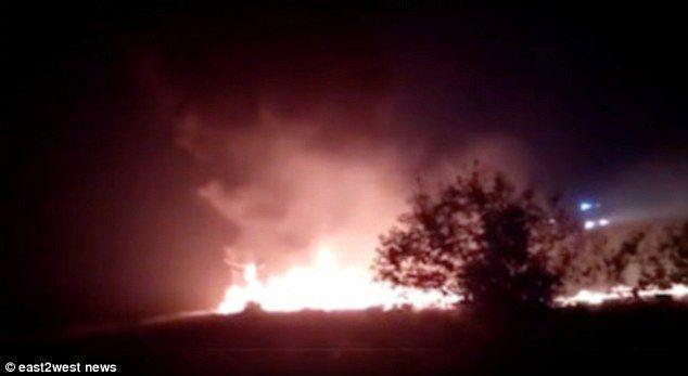 إخلاء 170 راكب وإصابة العشرات في هبوط تحطمت فيه طائرة بوينغ في مطار سوتشي الروسية