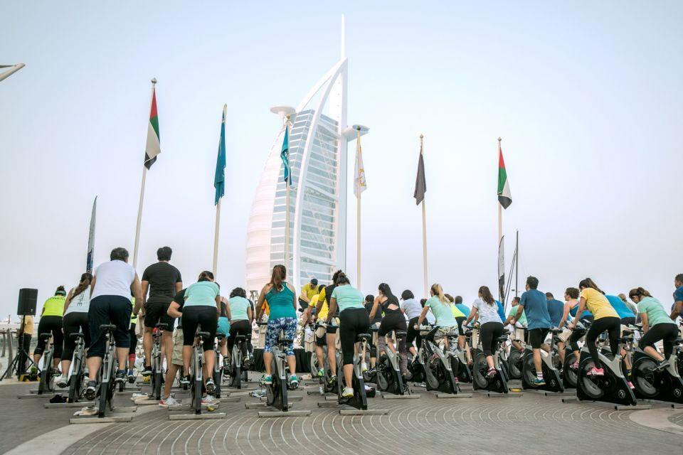 بالصور : تحدي دبي للياقة يعود بحلّة متجدّدة
