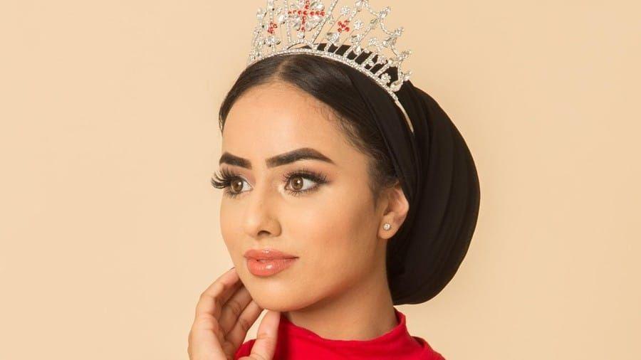 شاهدي أول متسابقة بالحجاب في مسابقة ملكة جمال إنكلترا