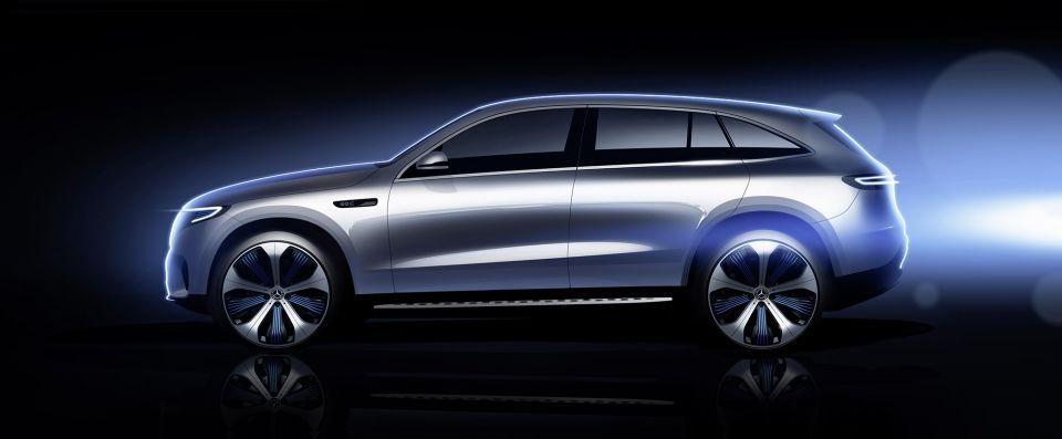 بالصور : مرسيدس-بنز في عالم السيارات الكهربائية