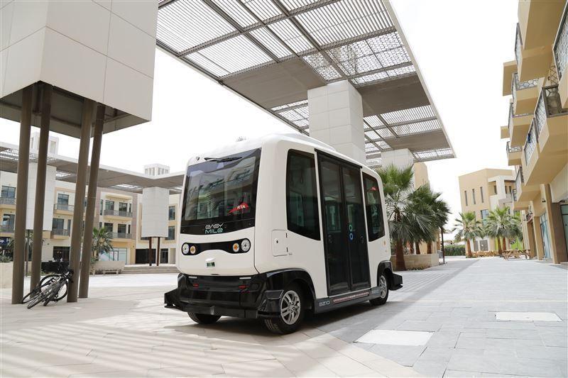 طرق دبي تُشغّل مركبة ذاتية القيادة في المدينة المستدامة