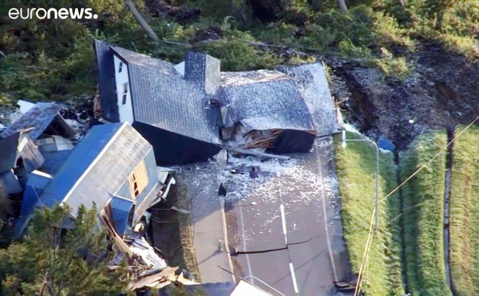 شاهد زلزال بقوة 7 درجات يضرب اليابان صباح اليوم