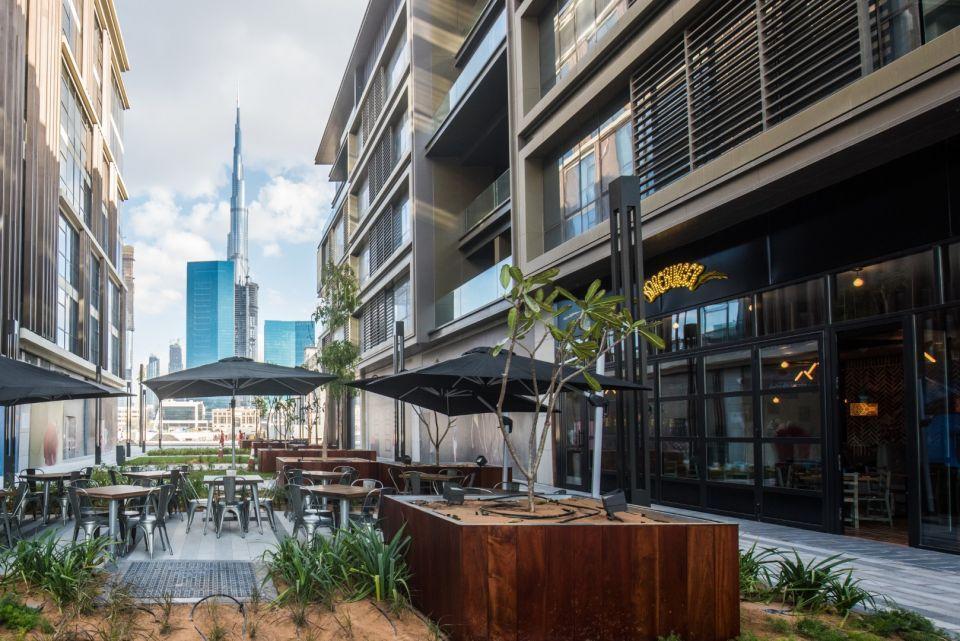بالصور: هل يسيل اللعاب لأول برجر نباتي في دبي؟