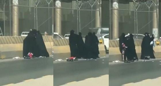 فيديو: مشاجرة عنيفة بين نساء في الرياض