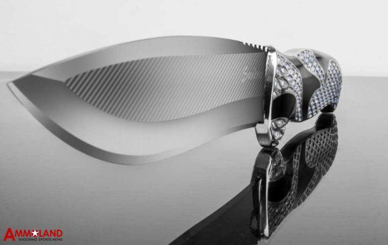 بالصور : سكين بلاتيني أغلى من سيارة بورش