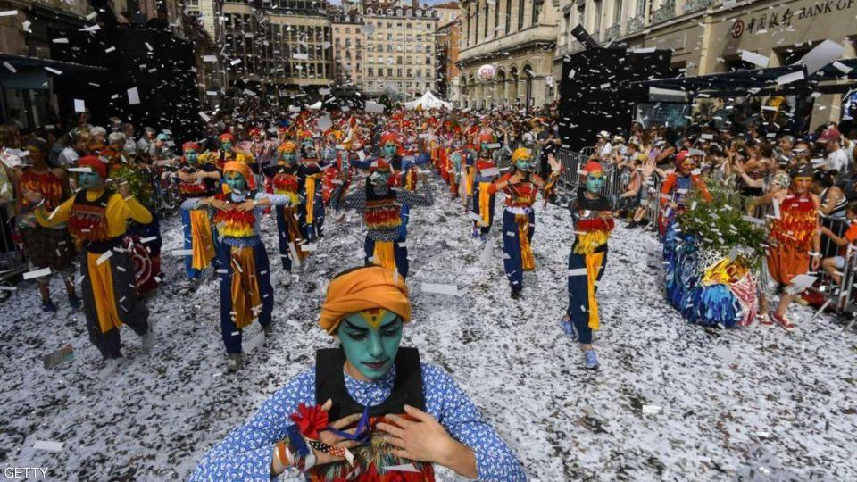 بالصور : مهرجان الرقص في فرنسا