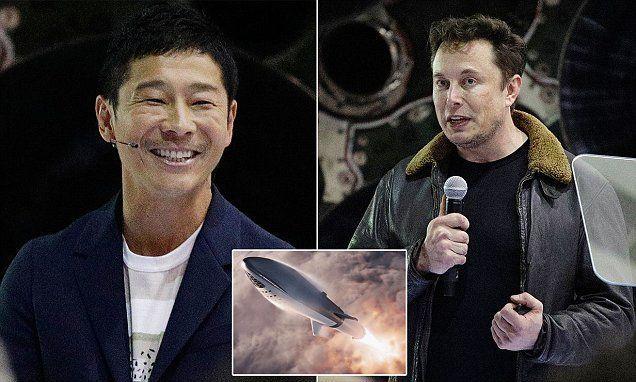 ملياردير ياباني هو أول سائح فضائي في رحلة نحو القمر