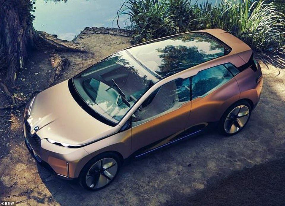شاهد iNext سيارة المستقبل من بي إم دبليو