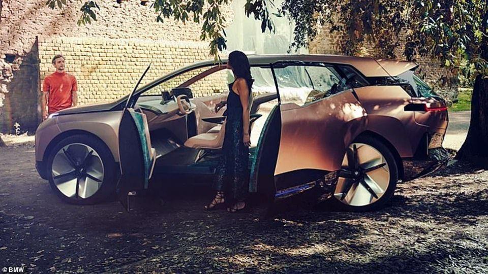 شاهد مستقبل سيارات بي إم دبليو مع طراز أي نكست