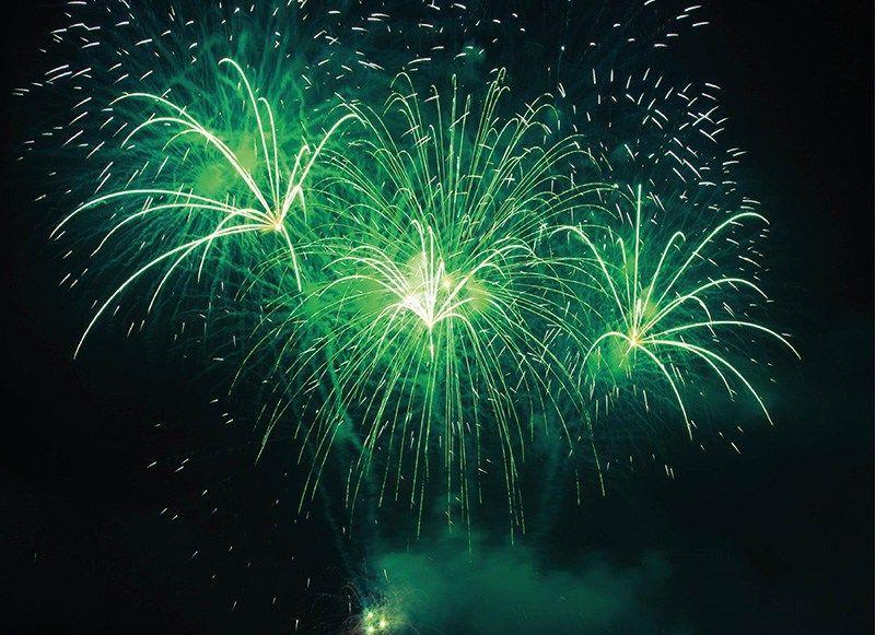 احتفالاً باليوم الوطني السعودي.. جزيرة ياس تطلق عرض ألعاب نارية